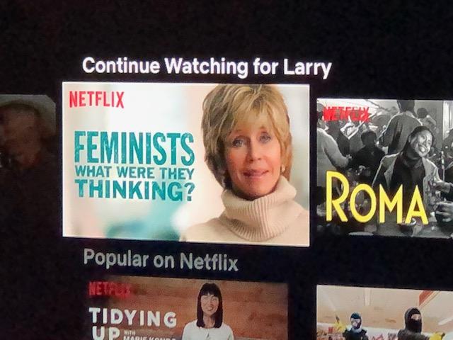 Feminist Netflix pic